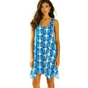 Lilly Pulitzer Medium Melle Jellyfish Tank Dress